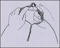 Способи привязування гачків, вертлюжков і т.д.