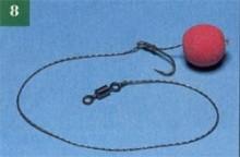 Вузол Knotless knot - крок за кроком