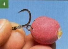 Кріплення бойлов за допомогою бандажної стрічки й бандажної нитки